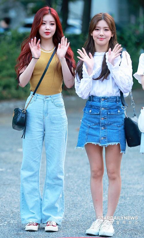 Soo Jin và Mi Yeon lại có nét đẹp cá tính và chất giọng lạ.
