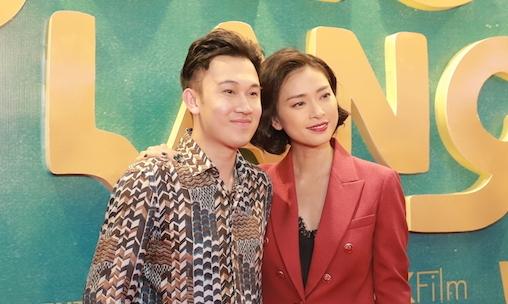 Dương Triệu Vũ chúc mừng người chị Ngô Thanh Vân.
