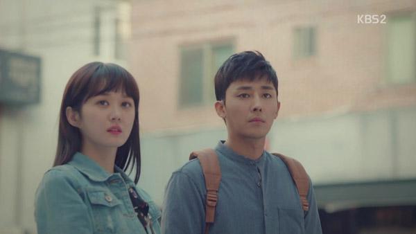 Ngoại hình trong veo khi vào vai sinh viên của Jang Na Ra.