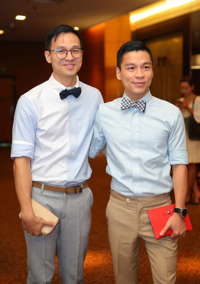 <p> Cặp đôi Adrian Anh Tuấn - Sơn Đoàn.</p>