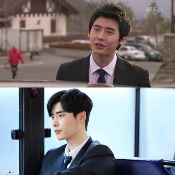 Đây là Lee Jong Suk, thuở hai lúa mới debut trong bộ phim Prosecutor princess(2010), và trong bộ phim While you were sleeping (2017).