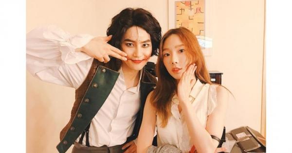 Tae Yeon đi xem nhạc kịch của Suho cũng bị chỉ trích.