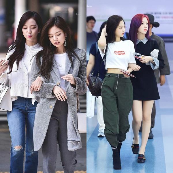 Jennie và Ji Soo luôn xuất hiện cùng nhau thân thiết, tình cảm.