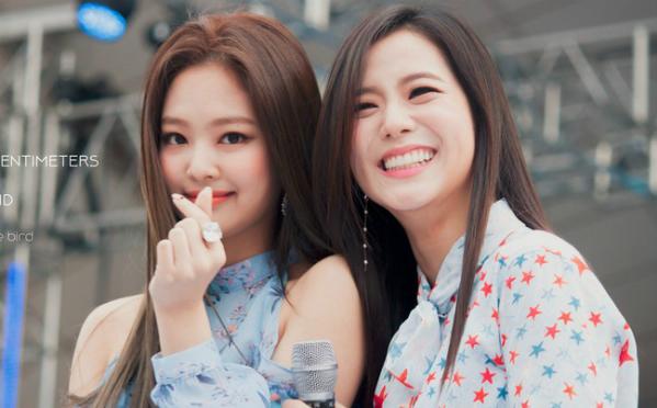 Ji Soo và Jennie (Black Pink) - bộ đôi visual đủ sức cân cả Kpop - 2