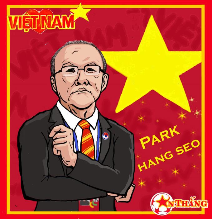 <p> Đây là cách mà truyền thông nước ngoài, người hâm mộ nước ngoài thấy về thuyền trưởng Olympic Việt Nam.</p>