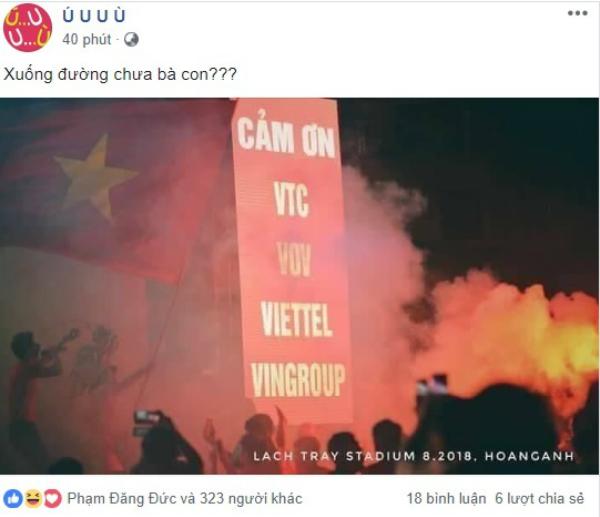 Dân mạng dậy sóng ăn mừng chiến thắng lịch sử U23 Việt Nam