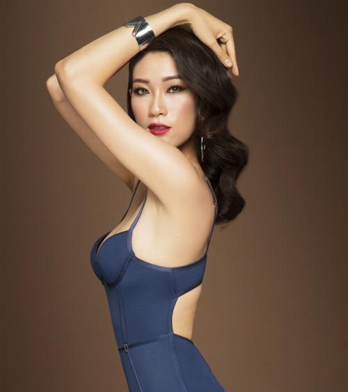 Ngọc Thúy - Top 40 Hoa hậu Hoàn vũ Việt Nam 2017.