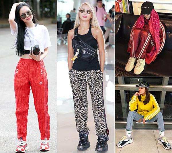 Ugly sneakers (giày xấu) là tên gọi của xu hướng giày thể thao với phom dáng cồng kềnh, thô kệch gây sốt toàn thế giới năm nay. Các sao Hàn vốn ưa chuộng phong cách hầm hố, cá tính nên cũng không nằm ngoài trào lưu chung này.