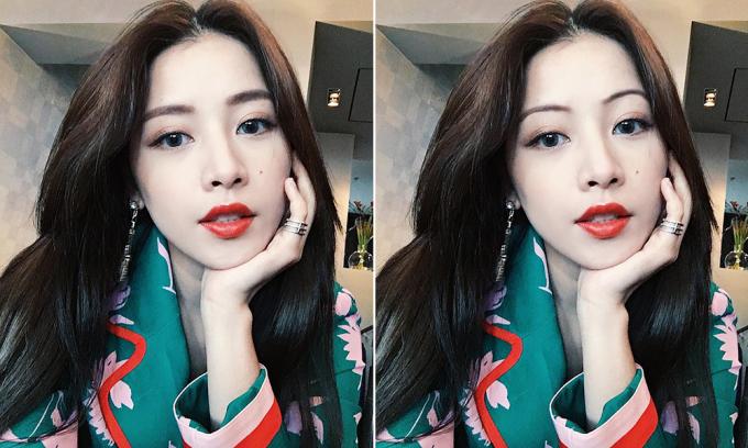 """<p> Với những cô gái có nhan sắc hiện đại, trẻ trung như Chi Pu, một hàng mày rậm dày vừa phải, dáng ngang kiểu Hàn Quốc vẫn hợp hơn hẳn lông mày """"sợi chỉ"""".</p>"""
