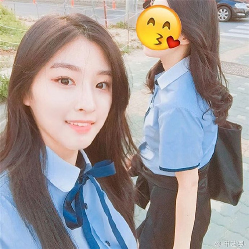Shin Ye Eun từng học tại trường nghệ thuật Hanlim và nổi tiếng với tư cách là một ulzzang.