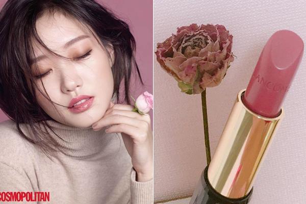 Nếu yêu thích gam hồng pha chút đất nhẹ nhàng, thỏiLancome Absolut Rouge màu 264 là cây son đáng sắm. Đây là sản phẩm gây sốt sau khi được Kim Go Eun lăng xê trong phim Goblin một thời.