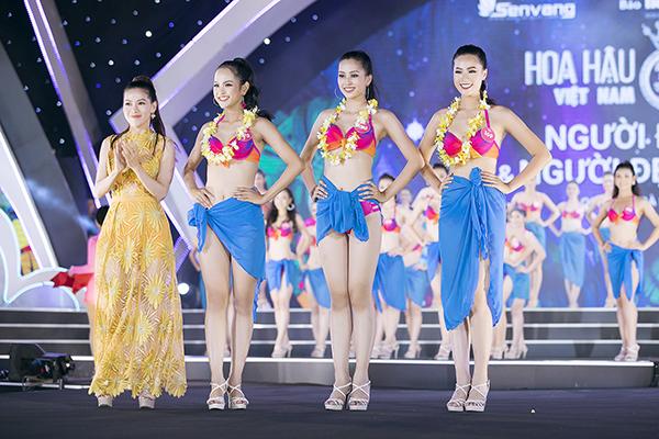 Top 3 Người đẹp biển của Hoa hậu Việt Nam 2018 diễn bikini bốc lửa - 3