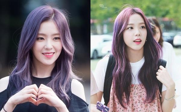 Visual bất phân thắng bại của Irene và Ji Soo khi để cùng kiểu tóc