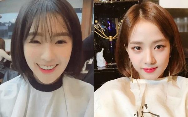 Visual bất phân thắng bại của Irene và Ji Soo khi để cùng kiểu tóc - 3
