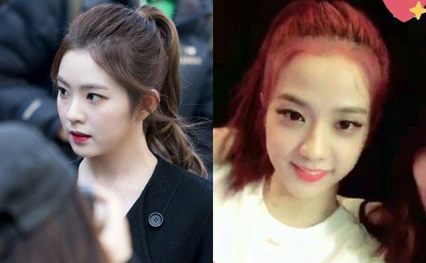 Visual bất phân thắng bại của Irene và Ji Soo khi để cùng kiểu tóc - 5
