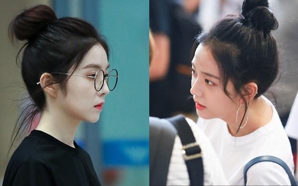 Visual bất phân thắng bại của Irene và Ji Soo khi để cùng kiểu tóc - 6
