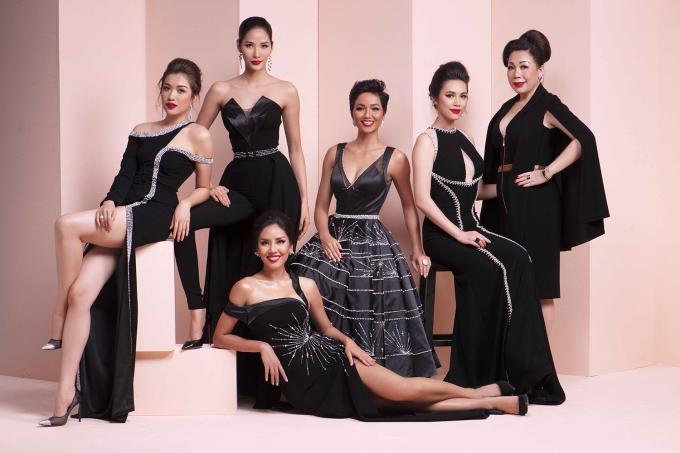 <p> Bộ ảnh được lấy cảm hứng từ vẻ đẹp châu Âu với những trang phục thướt tha. Linh San (phải) cũng là nhà thiết kế đồng hành cùng Hoa hậu H'Hen Niê từ khi tham dự Hoa hậu Hoàn vũ đến nay.</p>