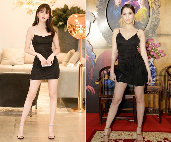 So sánh vóc dáng của Ngọc Trinh trong bức ảnh mới và ở một sự kiện trước đó có thể thấy sự khác biệt rõ rệt. Dưới ống kính bình thường chưa qua chỉnh sửa, cô nàng không có thân hình mảnh mai, đôi chân nuột nà không tì vết như khi đã được photoshop kỹ càng.