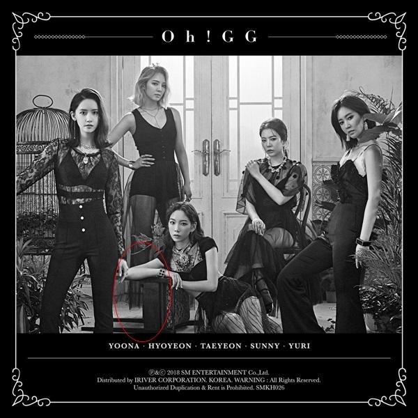 Fan phát hiện lỗi photoshop trong ảnh teaser của Oh!GG.