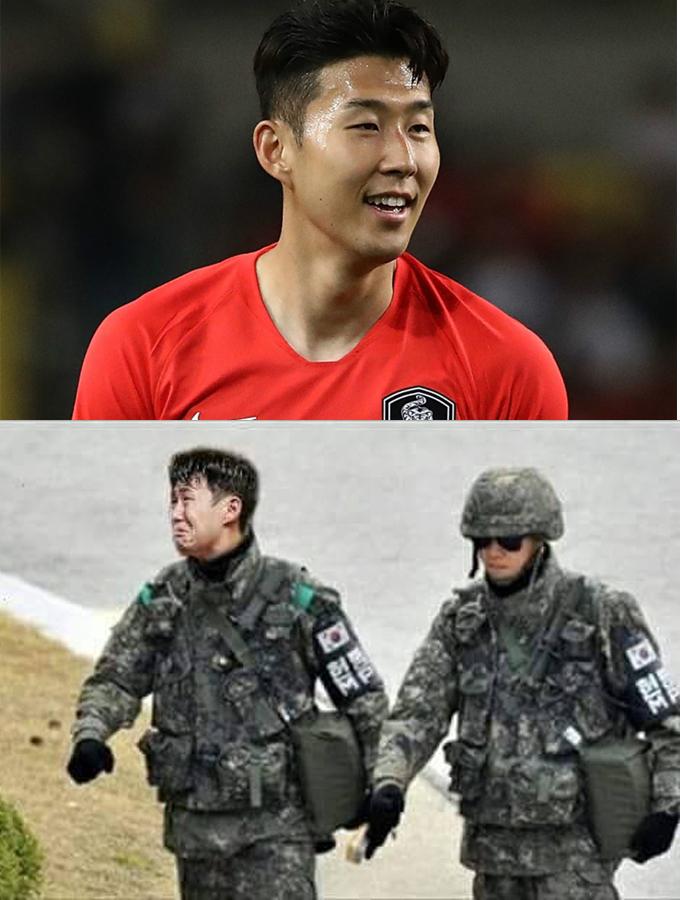 <p> Thánh chế vẽ ra viễn cảnh tâm trạng của Son Heung-min trước và sau trận đấu chiều nay.</p>