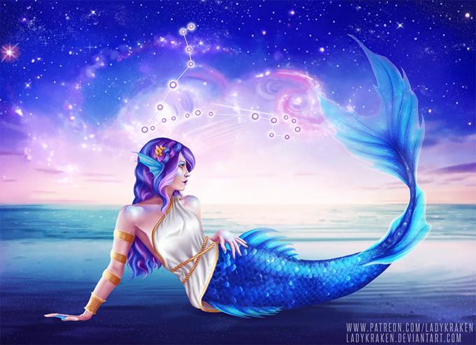 <p> Song Ngư có biểu tượng là hai chú bơi ngược chiều nhau, mà theo thần thoại Hy Lạp chính là hai vị cứu tinh đã giúp đỡ nữ thần sắc đẹpAphrodite và thần tình yêu Eros bảo toàn tính mạng trước cuộc tấn công củaTyphon.</p>