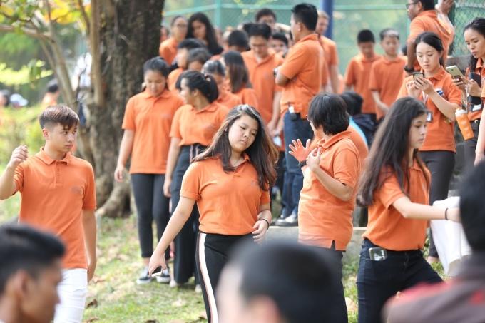 <p> Không khí tạitrường Sekolah Pelita Harapan International sáng nay rộn rã hơn khi có sự xuất hiện của Olympic Việt Nam.</p>