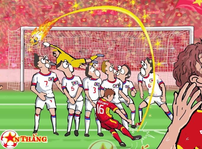 """<p> Trái bóng vẽ một đường cong tuyệt diệu hạ gục người hùng của Hàn Quốc tại World Cup 2018 vừa qua. Dù dừng bước ở bán kết, <a href=""""https://ione.net/tin-tuc/nhip-song/that-tran-olympic-viet-nam-van-thap-lai-niem-tin-cho-nguoi-ham-mo-3800415.html"""">người hâm mộ </a>Việt Nam vẫn tự hào về những gì Olympic Việt Nam thể hiện.</p>"""