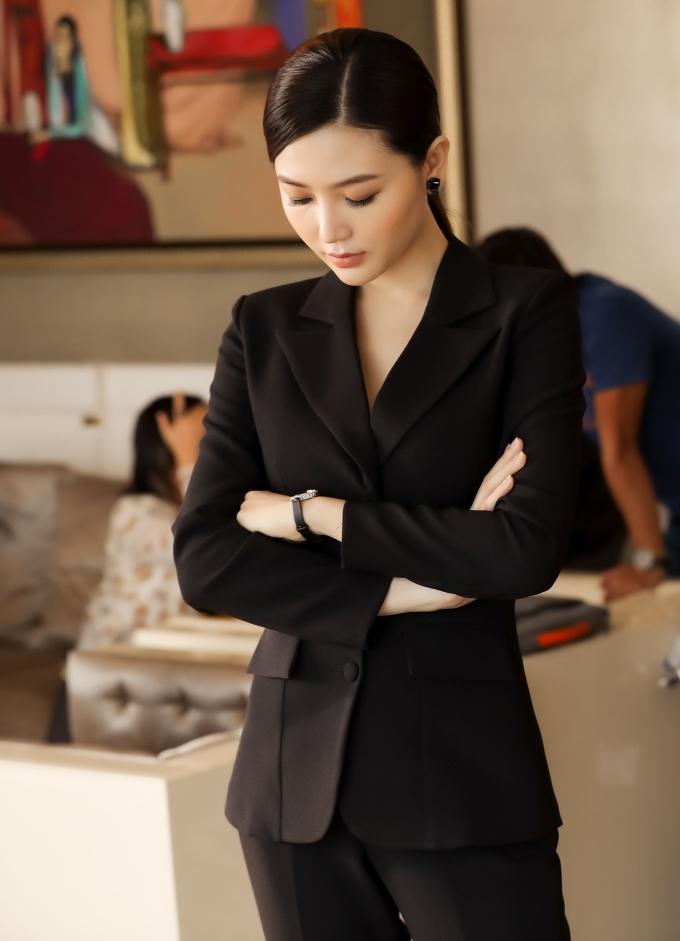 <p> Hình ảnh của một doanh nhân, phụ nữ thành đạt là điều Ngọc Duyên hướng đến.</p>