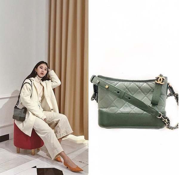Chiếc túi xách CHANEL GABRIELLE SMALL HOBO BAG : OLIVE ( LIMITED )