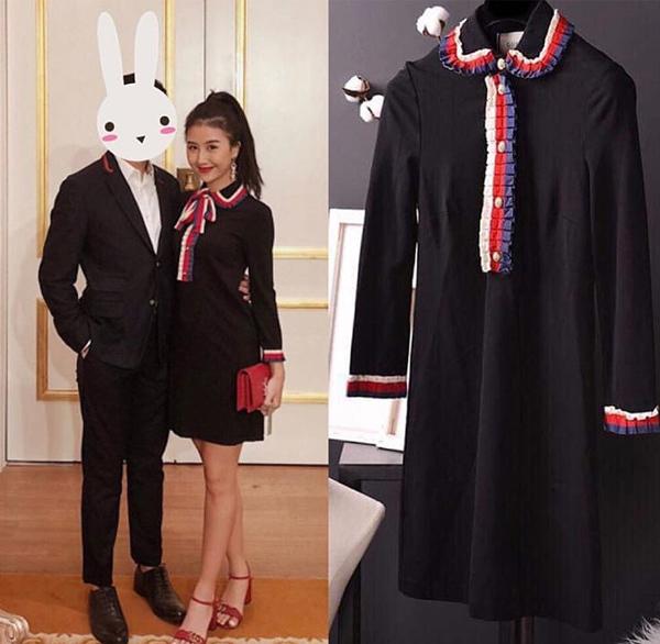 Chiếc váy Gucci có giá khoảng 42 triệu đồng này mới 98% khi Quỳnh Anh Shyn nhượng lại.