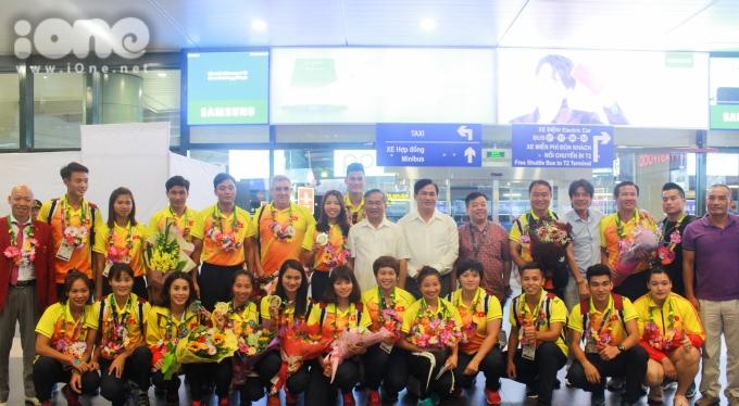 """<p> Ở Asiad 2018, điền kinh Việt Nam mang về 5 tấm huy chương, trong đó có 1 HCV, 1 HCB, và 3 HCĐ. Với thành tích này, môn thể thao """"nữ hoàng"""" góp phần nâng cao thứ hạng của đoàn Việt Nam trên bảng tổng sắp huy chương.</p>"""