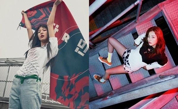 Một số người cho rằng Seul Gi diện concept thể thao trông như chị đại thực thụ.