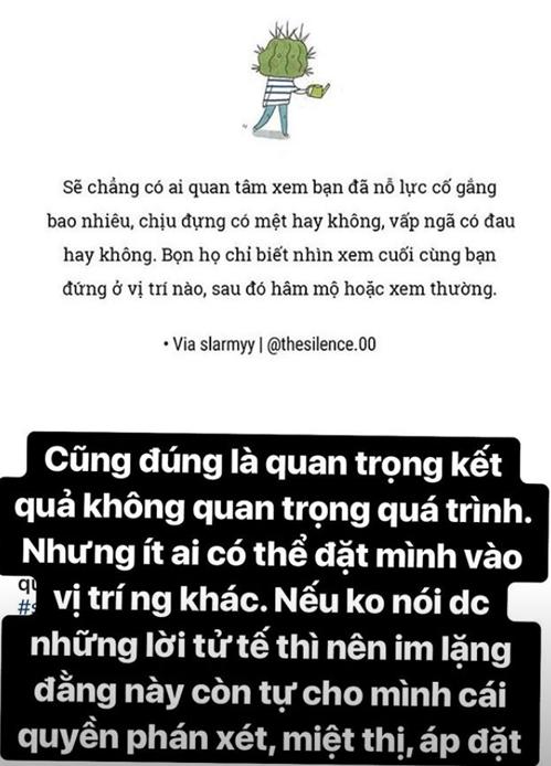 Bạn gái Quang Hải đáp trả fan cuồng: Nếu không nói được lời tử tế thì nên im lặng - 1