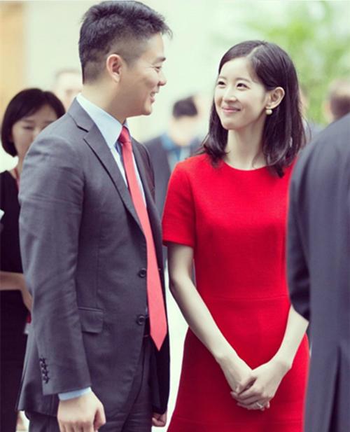 Lưu Cường Đông và vợ kém 19 tuổi - cô bé trà sữa Chương Trạch Thiên.