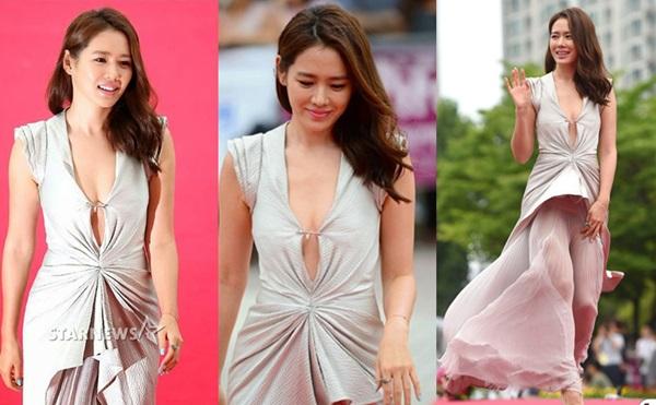 Những lần hở bạo khiến khán giả nín thở của chị đẹp Son Ye Jin - 4