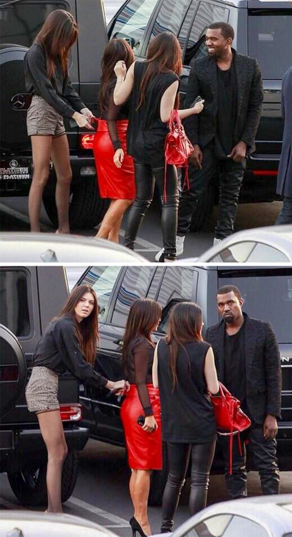 <p> Tâm trạng của Kanye West thay đổi một trời một vực khi nhìn thấy paparazzi.</p>
