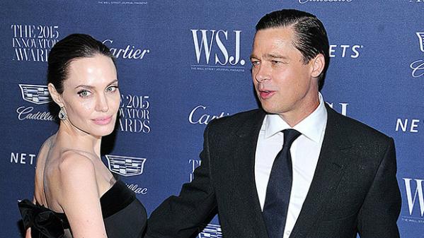 Angelina Jolie và Brad Pitt thời còn bên nhau.