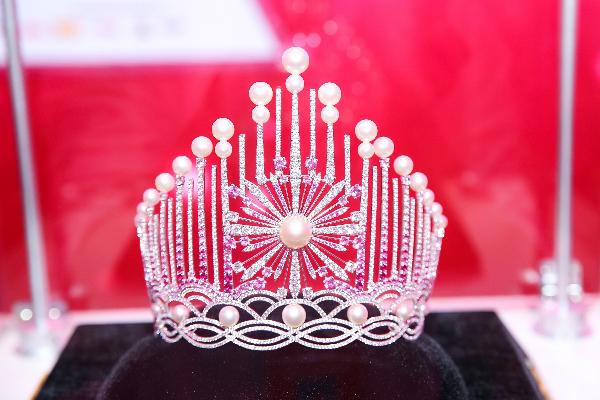 Vương miện đính 3.260 viên đá quý cho Hoa hậu Việt Nam 2018
