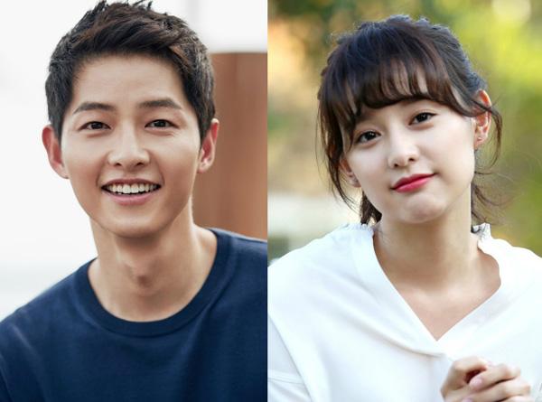 Dự án bom tấn của Song Joong Ki và Kim Ji Won khiến fan rần rần - 1