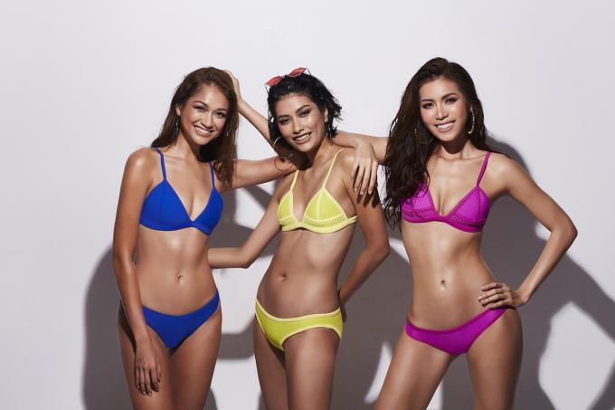 <p> Trở lại <em>Asia's Next Top Model </em>mùa 6 với vai trò HLV chuyên môn cho các thí sinh, Minh Tú, Shikin - Á quân mùa 5 và Monika - Á quân mùa 3 có những màn thị phạm gây ấn tượng sau 3 tập lên sóng. Khoảng thời gian hơn hai tháng bên nhau khiến tình cảm của họ thêm gắn kết. Mới đây, bộ ba HLV cùng thực hiện bộ ảnh khoe vóc dáng với bikini.</p>