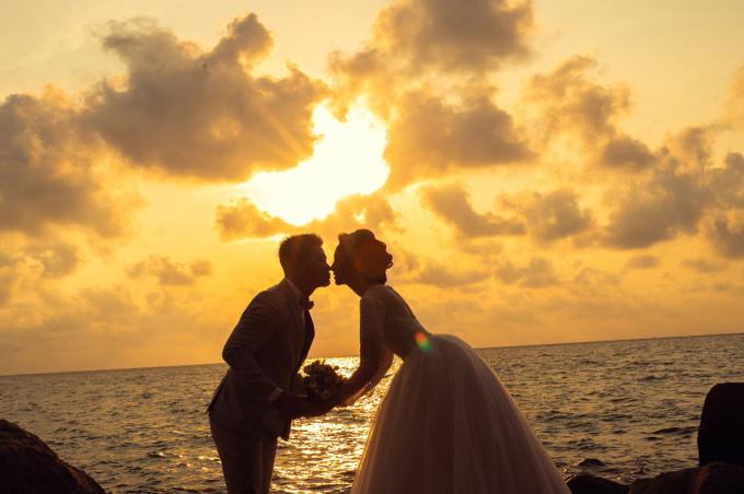 <p> Khung cảnh lãng mạn trong bộ ảnh cưới của Hoa hậu Thu Thảo.</p>