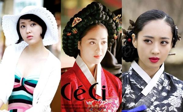 Nữ diễn viên thường gắn với những vai diễn có tạo hình cổ điển.