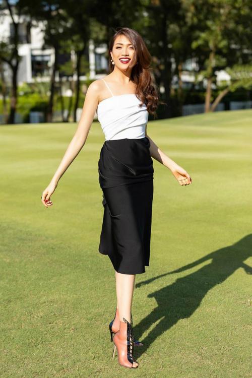 Phong cách thời trang khỏe khoắn, hiện đại của Lệ Hằng ở hiện tại được công chúng đánh giá cao.