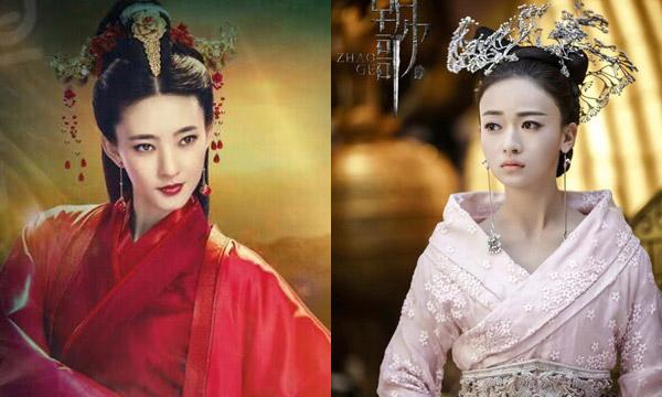 Hai nàng hồ ly mới của màn ảnh Trung Quốc: Vương Lệ Khôn và Ngô Cẩn Ngôn.