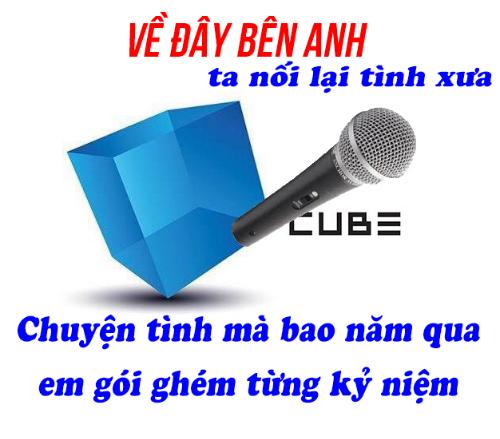 Ngay khi có thông tin Cube thu hồi quyết định đuổi Hyun Ah - EDwan, netizen Việt đã chế ngay lời ca khúc đầy mùi mẫn, miêu tả chuyện tình giữa Cube và cặp đôi sóng gió.