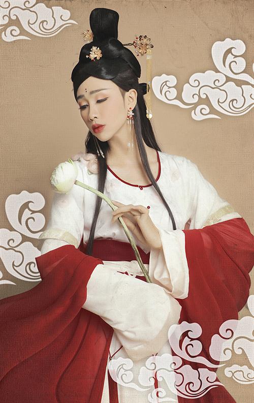 Giả gái đã đẹp, hóa chị Hằng BB Trần - Hải Triều còn lung linh hơn - 7