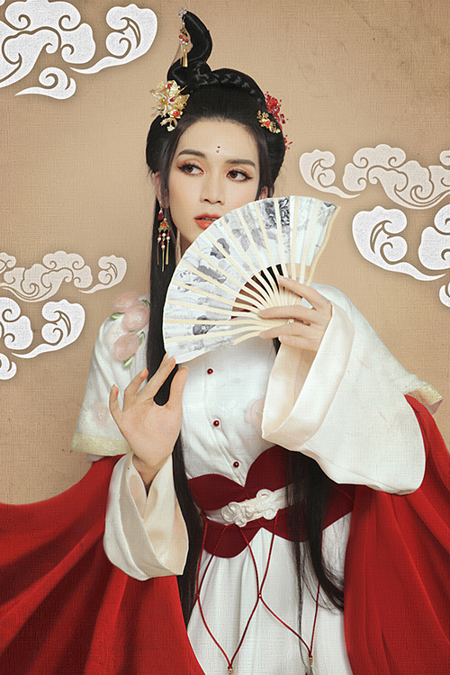Giả gái đã đẹp, hóa chị Hằng BB Trần - Hải Triều còn lung linh hơn - 6