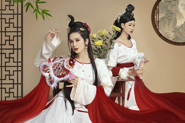 Giả gái đã đẹp, hóa chị Hằng BB Trần - Hải Triều còn lung linh hơn - 1