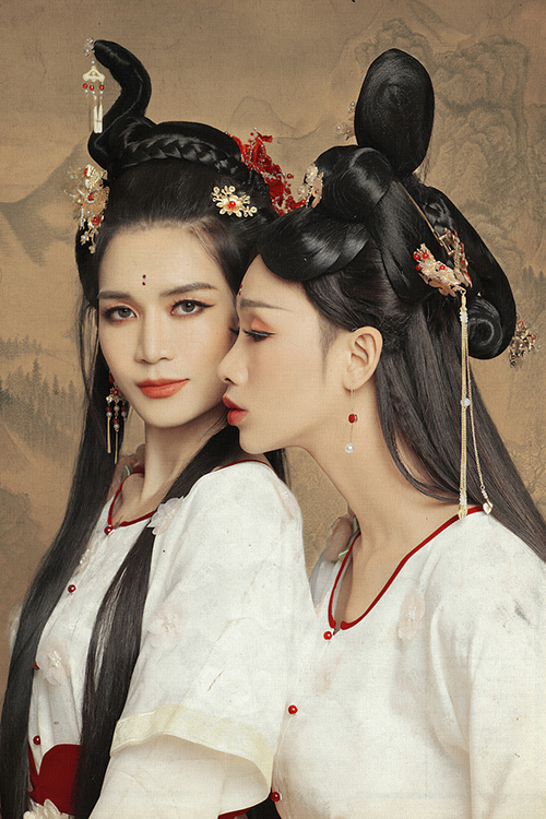 Giả gái đã đẹp, hóa chị Hằng BB Trần - Hải Triều còn lung linh hơn - 2
