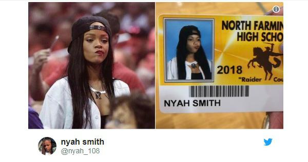 Ảnh chế thẻ học sinh cực hài hước gây sốt mạng xã hội nước Mỹ